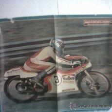 Coleccionismo deportivo: POSTER RICARDO TORMO 1978. Lote 26762363