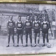 Coleccionismo deportivo: FOTO ENMARCADA DE BALONCESTO-BASKET- B I M. Lote 15905346