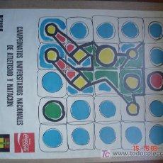 Coleccionismo deportivo: FEDERACION ESPAÑOLA DEL DEPORTE UNIVERSITARIO - MAYO 1978 -. Lote 16419938