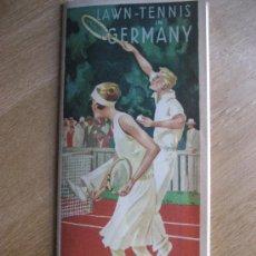 Coleccionismo deportivo: TENIS EN ALEMANIA AÑOS 20. LAWN-TENNIS IN GERMANY. Lote 24769649