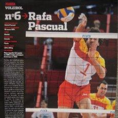 Coleccionismo deportivo: VOLEIBOL - RAFA PASCUAL. Lote 261808815