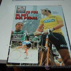 Coleccionismo deportivo: CICLISMO: PÓSTER DE EDDY MERCKX. 1979. Lote 20634287
