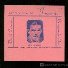 Coleccionismo deportivo: CICLISMO. FOTOGRAFIA PUBLICITARIA DEL CAMPEON CICLISTA DE MALAGA Y MELILLA DE 1939-40 JOSE MIÑARRO.. Lote 19802379