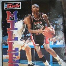 Coleccionismo deportivo: NBA MILLER. Lote 26559972