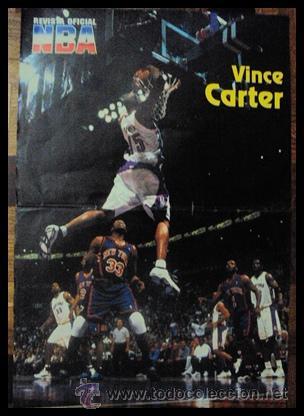 VINCE CARTER. NBA. ESPECTACULAR MATE. PÓSTER (Coleccionismo Deportivo - Carteles otros Deportes)