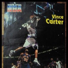 Coleccionismo deportivo: VINCE CARTER. NBA. ESPECTACULAR MATE. PÓSTER. Lote 22535324