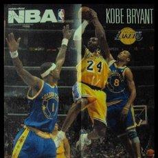 Coleccionismo deportivo: KOBE BRYANT. NBA. LANZAMIENTO A CANASTA. PÓSTER. Lote 22535339