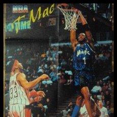 Coleccionismo deportivo: TRACY MCGRADY. NBA. MATE. PÓSTER. Lote 22535374