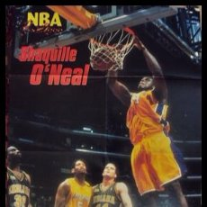 Coleccionismo deportivo: SHAQUILLE O'NEAL. MATE. FINAL NBA 2000. PÓSTER. Lote 22612176