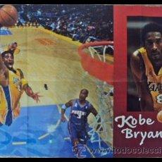 Coleccionismo deportivo: KOBE BRYANT NBA. MATE - CONDUCCIÓN - REFLEXIÓN. PÓSTER. Lote 22649461