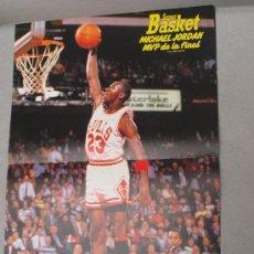Coleccionismo deportivo: POSTER MICHAEL JORDAN MVP FINAL 1991, . Lote 23234159