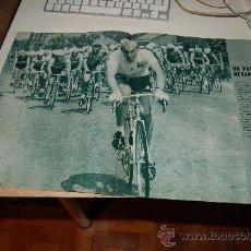 Coleccionismo deportivo: CICLISMO: PÓSTER DE EDDY MERCKX EN EL TOUR DE 1969. Lote 27461463