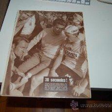 Coleccionismo deportivo: CICLISMO: PÓSTER DE HERMAN VAN SPRINGEL TRAS PERDER EL TOUR DE 1968. Lote 27461460