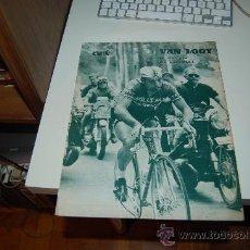 Coleccionismo deportivo: CICLISMO: RECORTE DE RIK VAN LOOY EN EL TOUR DE 1969. Lote 27461457