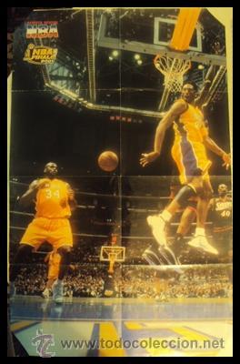KOBE BRYANT. NBA FINALES 2001. ESPECTACULAR ASISTENCIA. PÓSTER (Coleccionismo Deportivo - Carteles otros Deportes)