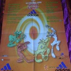 Coleccionismo deportivo: POSTER -ADIDAS-XV TROFEO SPORT GOOFY-1998-REAL CLUB JOLASETA-. Lote 23772890