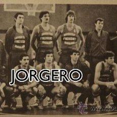 Coleccionismo deportivo: JOVENTUT FREIXENET BALONCESTO 1979-1980. RECORTE. Lote 28325787