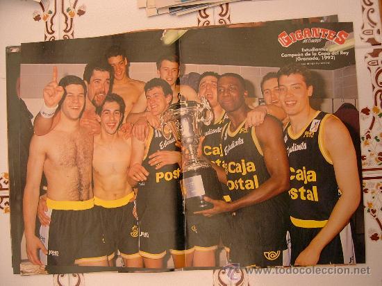 POSTER ESTUDIANTES CAMPEON COPA REY 1992 COMO NUEVO NUNCA PEGADO NI COLGADO (Coleccionismo Deportivo - Carteles otros Deportes)