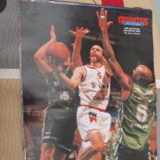 Coleccionismo deportivo: POSTER BALONCESTO JOSE LUIS GALILEA BALONCESTO LEON . Lote 29067899