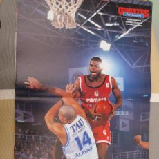 Coleccionismo deportivo: POSTER BALONCESTO AARON SWINSON PAMESA VALENCIA. Lote 29069504