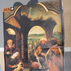 Coleccionismo deportivo: POSTER BALONCESTO ACB UNICAJA. Lote 29069611