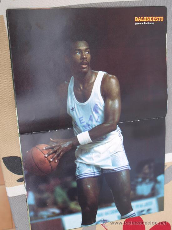poster baloncesto wayne robinson real madrid comprar en. Black Bedroom Furniture Sets. Home Design Ideas