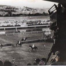 Coleccionismo deportivo: FOTOGRAFÍA HIPÓDROMO DE LA ZARZUELA, MADRID, 18X24CM. Lote 29253735