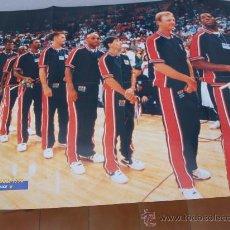 Coleccionismo deportivo: POSTER GIGANTE BALONCESTO NBA DREAM TEAM 1992 MICHAEL JORDAN,MAGIC,BIRD,BARKLEY. Lote 29264255
