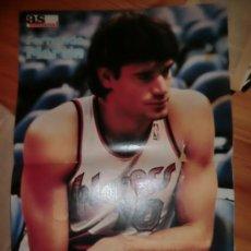Coleccionismo deportivo: POSTER ESPECIAL NBA FERNANDO MARTIN DIARIO AS AÑOS 80 .- BALONCESTO. Lote 30250260