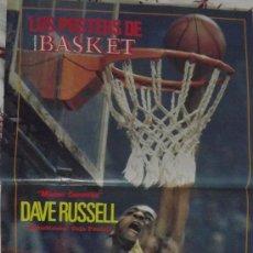 Coleccionismo deportivo: DAVE RUSSELL. ESTUDIANTES CAJA POSTAL. MATE. PÓSTER. Lote 31124343