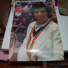 Coleccionismo deportivo: TENIS: PÓSTER DE MANOLO ORANTES. 1976. Lote 32184364