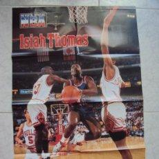 Coleccionismo deportivo: ISIAH THOMAS . NBA -. Lote 32339519