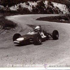 Coleccionismo deportivo: FOTOGRAFÍA A. MARTOS, AUTOMOVILISMO,III SUBIDA CAÑIZAR TROFEO BRESSEL, 24X18CM, FOTO IBAÑEZ, 1975. Lote 33087739