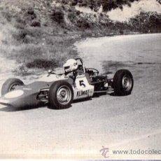 Coleccionismo deportivo: FOTOGRAFÍA A. MARTOS, AUTOMOVILISMO,III SUBIDA CAÑIZAR TROFEO BRESSEL, 24X18CM, FOTO IBAÑEZ, 1975. Lote 33087754