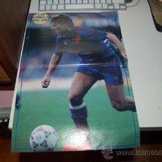Coleccionismo deportivo: BARÇA: PÓSTER DE MICHAEL LAUDRUP. 1991. Lote 34576399