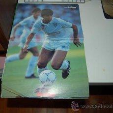 Coleccionismo deportivo: ALBACETE BALOMPIÉ: POSTER DE ZALAZAR. PRIMEROS AÑOS 90. Lote 34576425