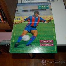Coleccionismo deportivo: BARÇA: PÓSTER DE JON ANDONI GOIKOETXEA. PRIMEROS AÑOS 90. Lote 34576472