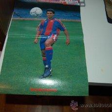 Coleccionismo deportivo: BARÇA: PÓSTER DE ROMARIO. TEMPORADA 93-94. Lote 34600493