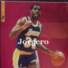 Coleccionismo deportivo: MAGIC JOHNSON. DIRECCIÓN DE JUEGO. MINI-PÓSTER. Lote 34761117