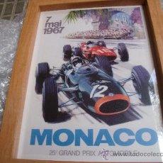 Coleccionismo deportivo: GRAN PREMIO MONACO FORMULA 1 1967. Lote 35216426