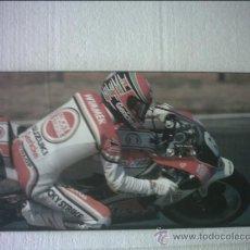 Coleccionismo deportivo: POSTER CARTEL MOTOCICLISMO PILOTO DE CARRERAS WIMMER. Lote 35225515