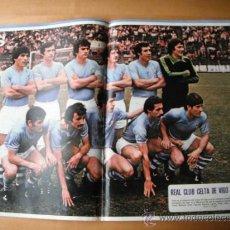 Coleccionismo deportivo: POSTER AS COLOR. REAL CLUB CELTA DE VIGO. 78.79. Lote 36060452