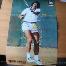 Coleccionismo deportivo: POSTER AS COLOR Nº 221 MANUEL ORANTES (CAMPEON OPEN USA). 1975. Lote 36720995