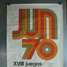 Coleccionismo deportivo: SALAMANCA - XVIII JUEGOS UNIVERSITARIOS NACIONALES - AÑO 1970. Lote 36890736
