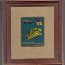 Coleccionismo deportivo: CUADRO CON PLAQUETA REUNIÓN BMW EUROPA CIRCUIT PAUL ARMAGNAC - NOGARO JUNIO 1994. Lote 37936240