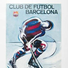 Coleccionismo deportivo: CARTEL INAGURACION PISTA DE HIELO PALAU BLAUGRANA 1971. Lote 38710125