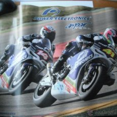 Coleccionismo deportivo: POSTER ASPAR TEAM. POWER ELECTRONICS. MIDE 58,5X42 CM.. Lote 39760445