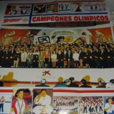 Coleccionismo deportivo: POSTER CAMPEONES OLIMPICOS, BARCELONA 92, SPORT. Lote 39821995