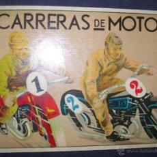 Coleccionismo deportivo: CARTEL DE CARRERAS DE MOTOS . MEDIDAS : 30 X 21. Lote 39931075
