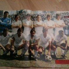 Coleccionismo deportivo: CARTEL POSTER ALINEACION SEVILLA AÑOS 70 - AS COLOR 212. Lote 40170201